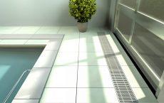 floor convector with fan